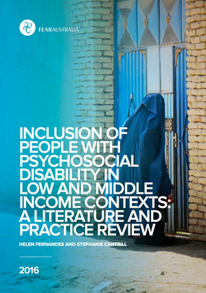 Inclusion of people with psychosocial disability in low and middle income contexts